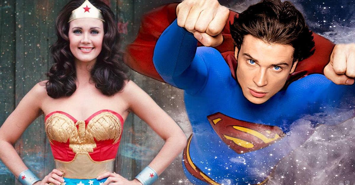 Tom Welling y Lynda Carter volverán a ser parte del Universo de DC