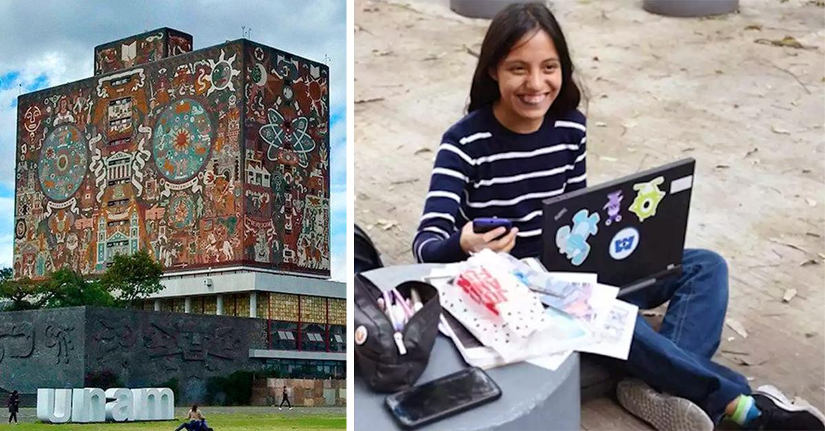 UNAM reconoce a alumna con parálisis cerebral por sobresaliente promedio