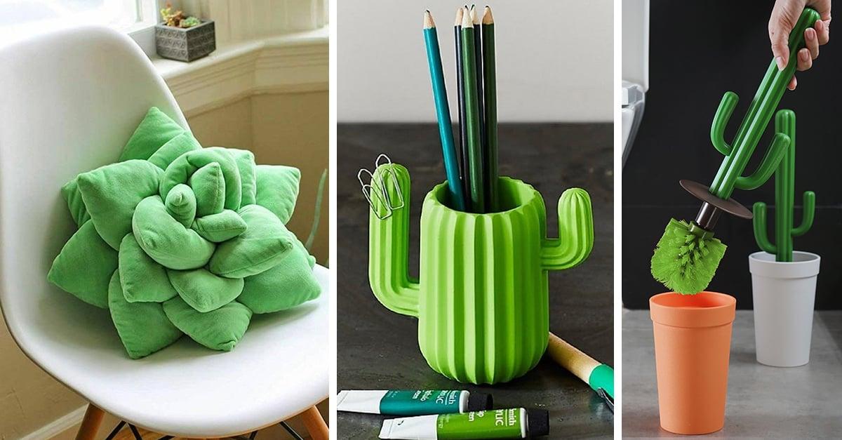 25 Artículos para convertir tu casa en un jardín de cactus