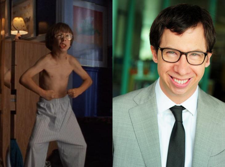 Todd Bosley como Jake Berman en la película de los pequeños gigantes y después como actor de series