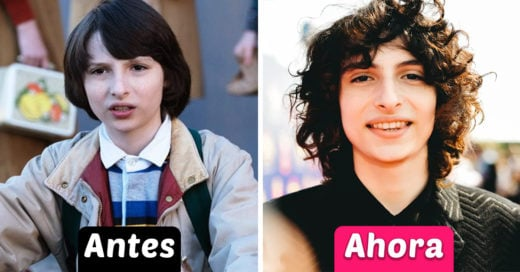 10 Fotos del antes y después del elenco de 'Stranger Things'