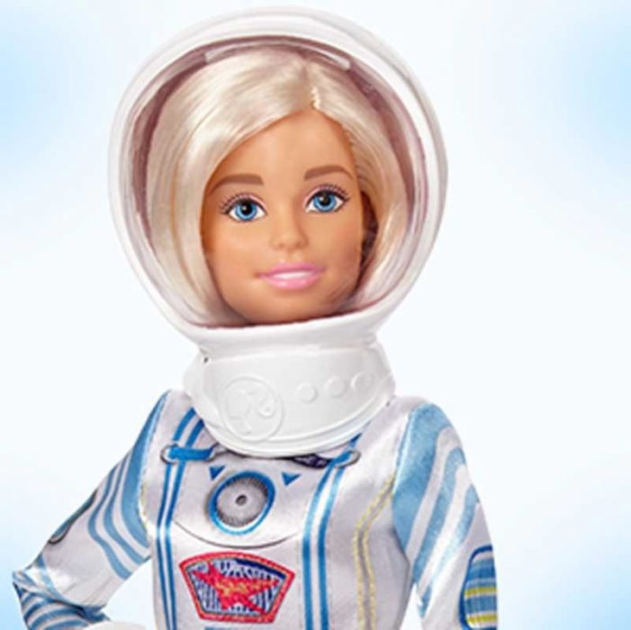 La primera barbie astronauta