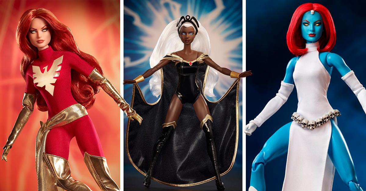 Mattel y Marvel presentan a las nuevas muñecas inspiradas en los X-Men