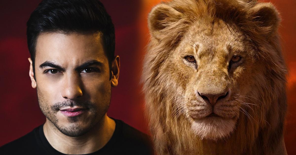 Nuevamente Carlos Rivera dará voz a Simba en El Rey León