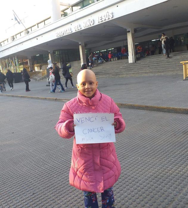 Delfi logró vencer el cáncer