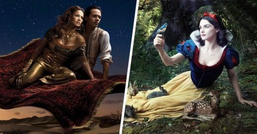 20 Celebridades como personajes Disney que te harán creer en cuentos de hada