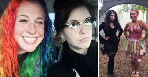 Hermanas se vuelven virales en Twitter por ser polos opuestos