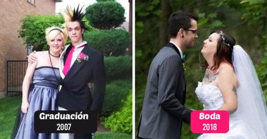15 Veces en que las personas se casaron con su cita al baile de graduación