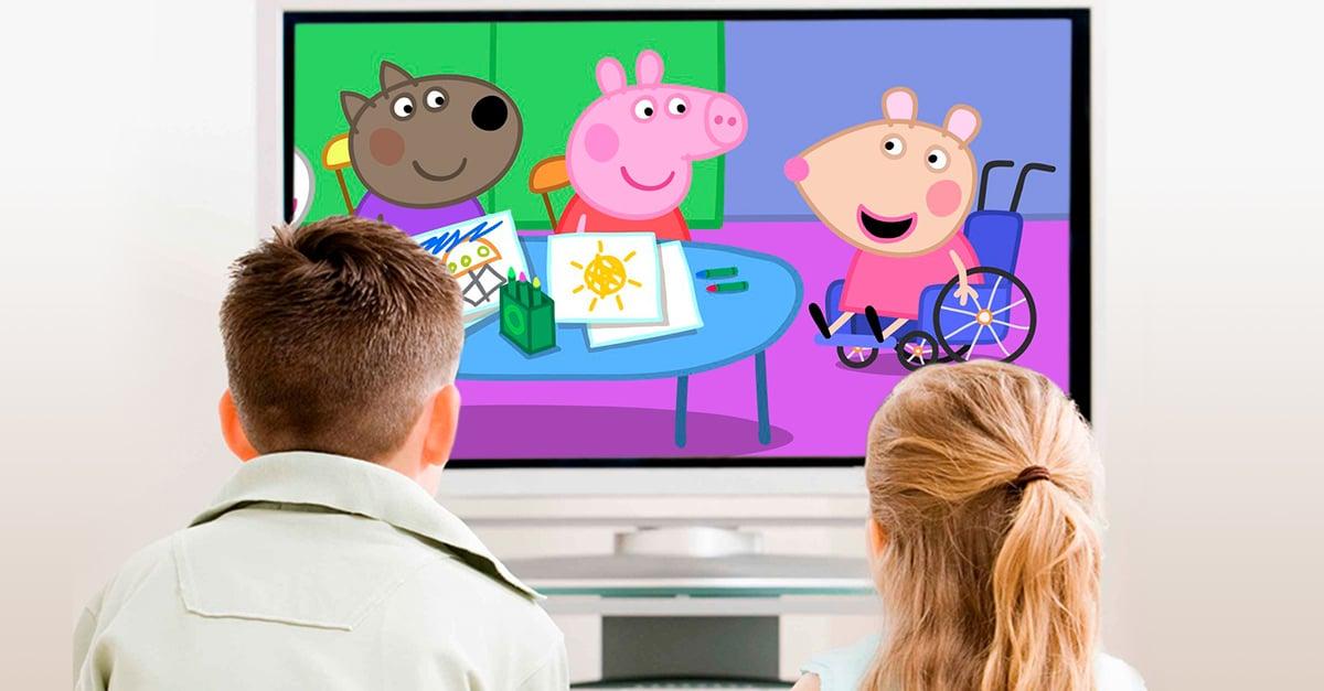 Estudio sugiere incluir personajes con discapacidad en programas infantiles