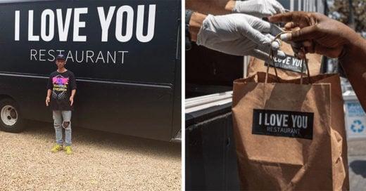Jaden Smith alimenta a personas de escasos recursos de manera gratuita