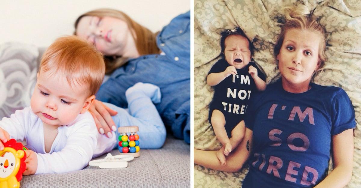 Madres primerizas tardan en recuperar el sueño seis años