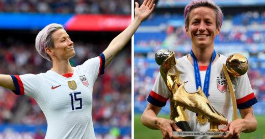 Megan Rapinoe, capitana del equipo de fútbol campeón del Mundial no irá a la Casa Blanca como se acostumbra, es 'anti-Trump'