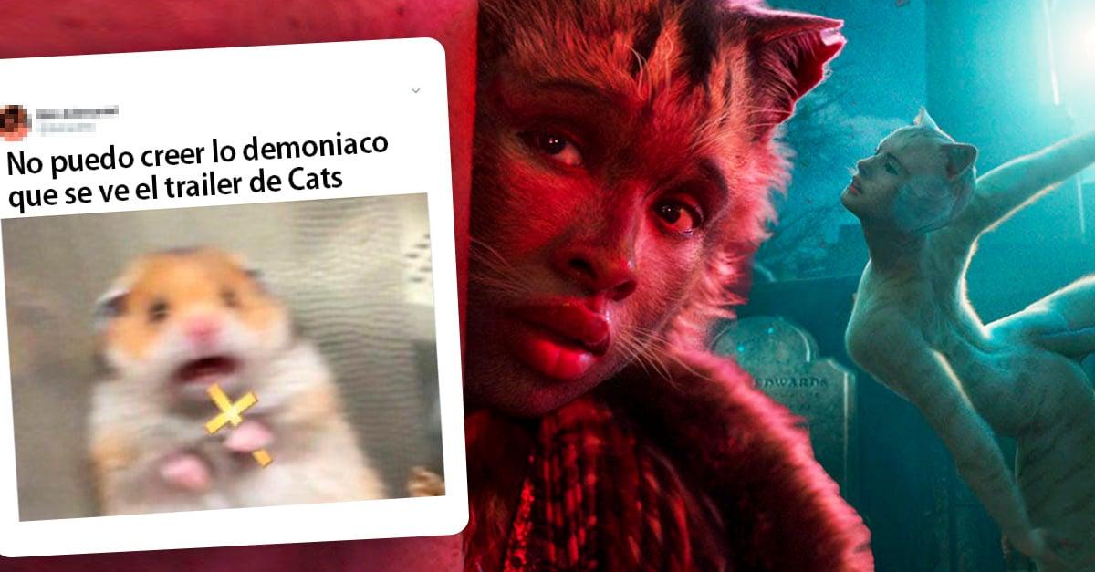 Estos son todos los memes que provocó el trailer de Cats