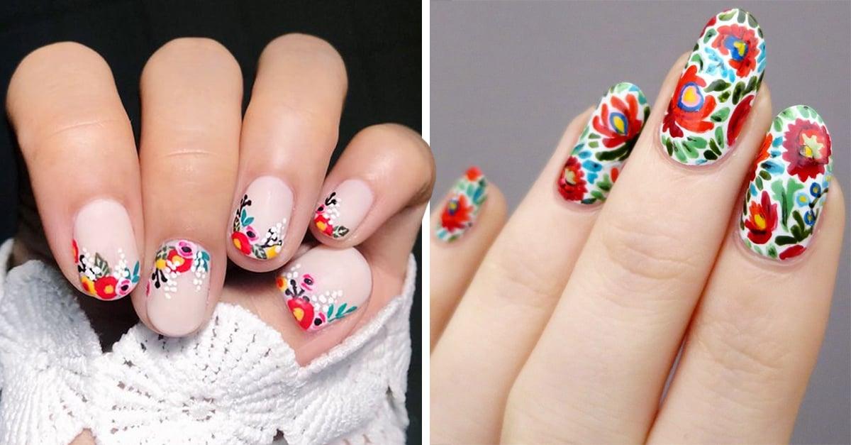 14 Efectos bordados para renovar tus uñas