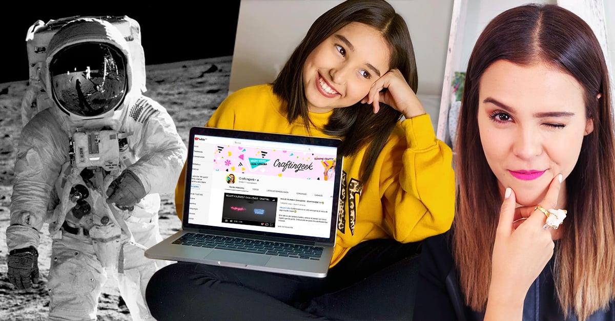 Niños preferirían ser youtubers que astronautas, según un estudio