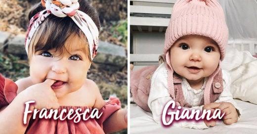15 Lindos nombres italianos para niña; son un toque de glamour