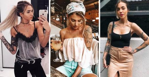 20 Atuendos para presumir tus tatuajes de los brazos