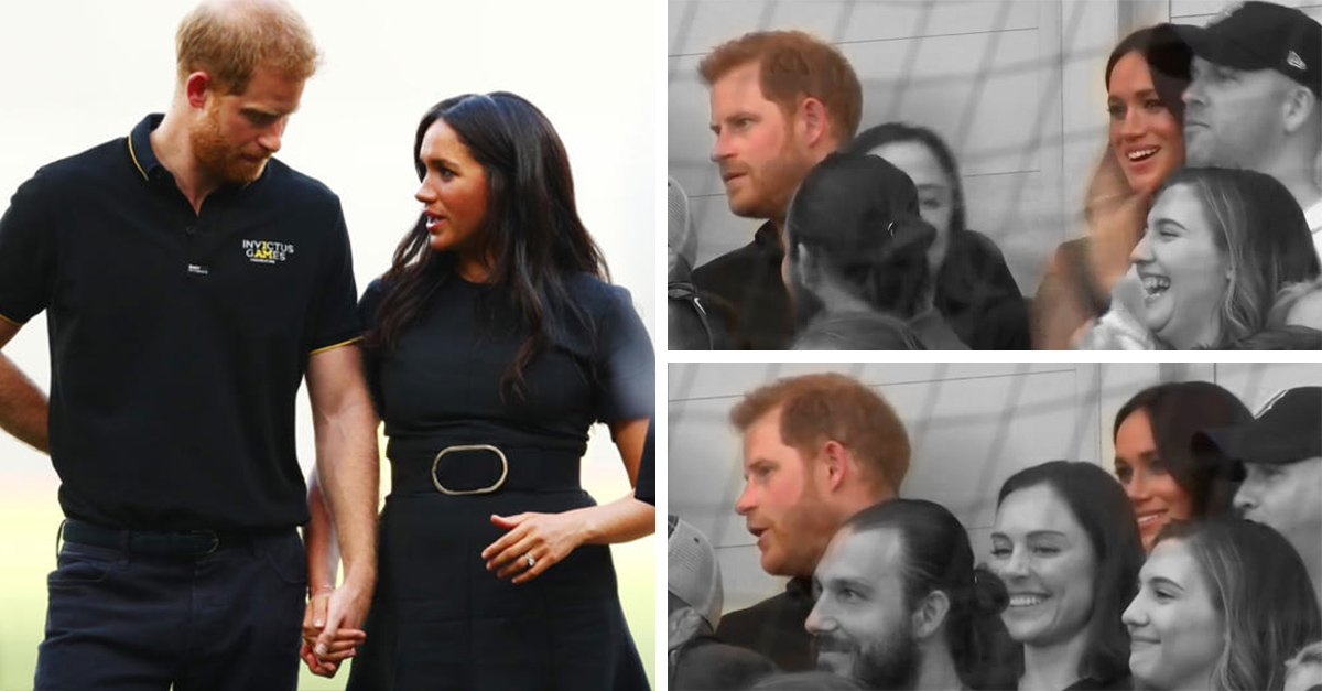 Príncipe Harry ignora a Meghan Markle en partido de béisbol