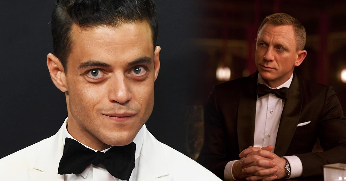 Rami Malek estuvo a punto de rechazar su papel de villano en Bond 25