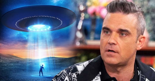 Robbie Williams genera polémica por contratar guardaespaldas que lo cuiden de extraterrestres