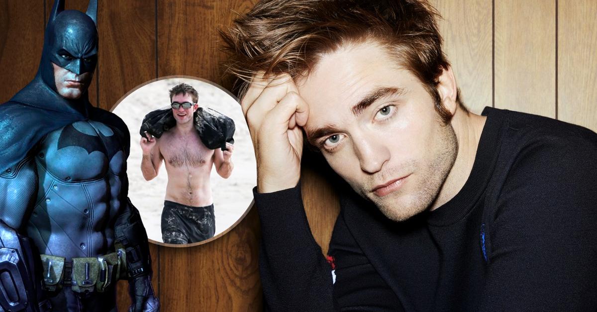 Robert Pattinson está trabajando duro para convertirse en el mejor Batman de todos