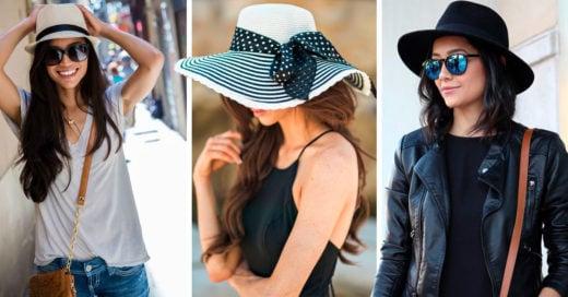 13 Lindos sombreros para un looks de verano con mucho glamour