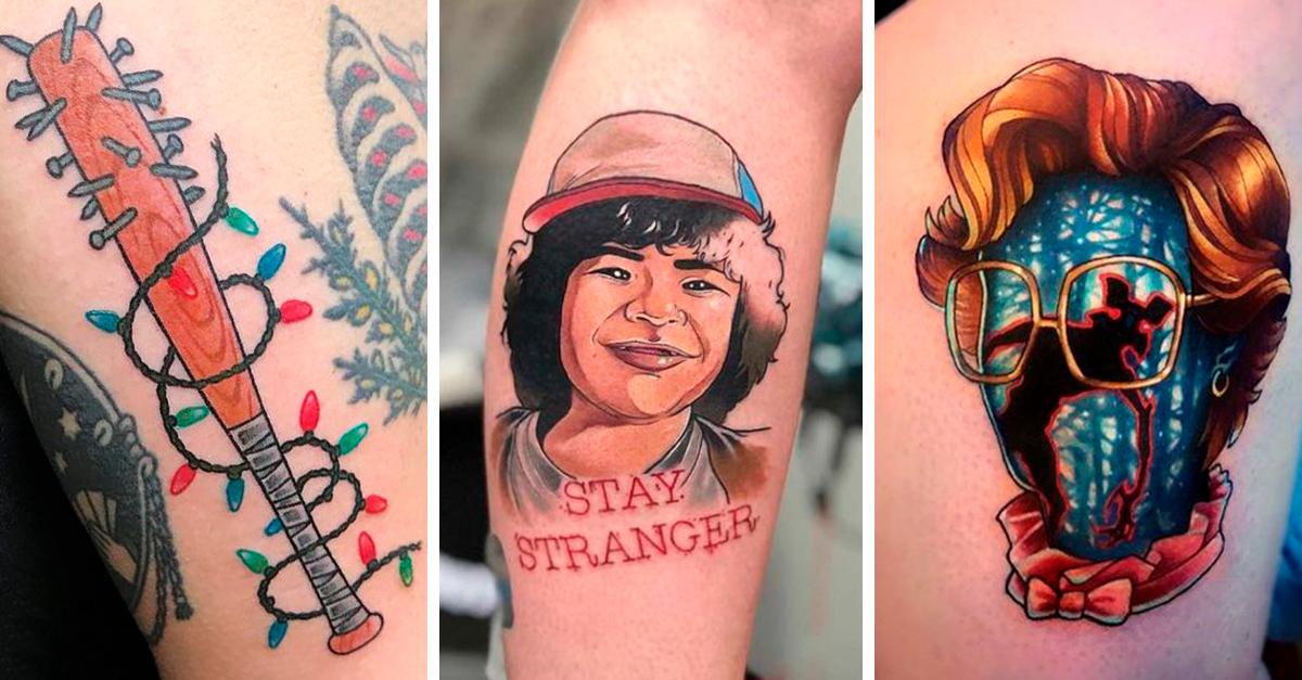 14 Tatuajes para los fanáticos de 'Stranger Things'