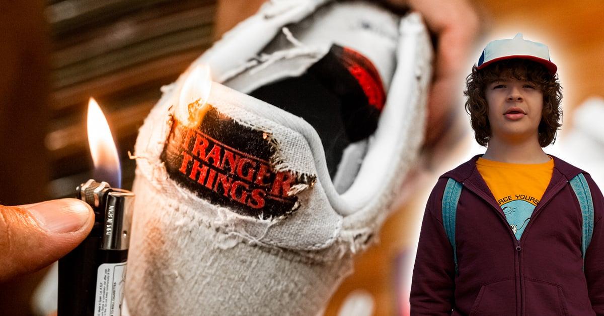 Nike lanza tenis inspirados en 'Stranger Things'; puedes quemarlos