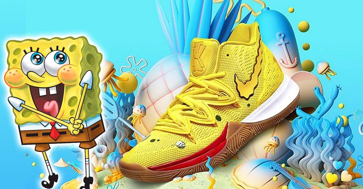 Nike lanza tenis de Bob Esponja y estamos listos para vivir en una piña