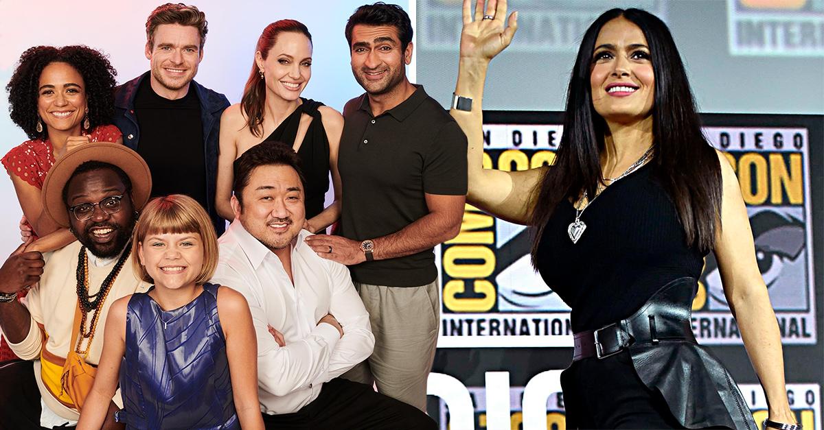 Confirman a la mexicana Salma Hayek en nuevo proyecto de Marvel