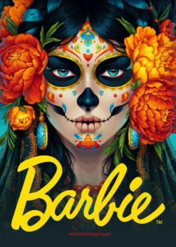 Posible propaganda para la Barbie edición especial Día de Muertos