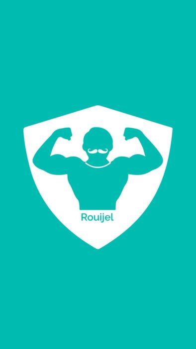 Logo de Rouijel la aplicación ficticia de acompañantes en Túnez