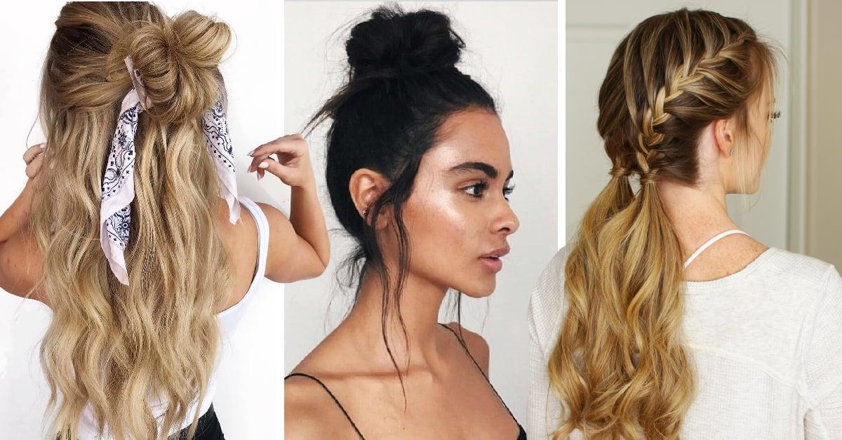 15 Peinados que puedes hacer en menos de 15 min para no llegar tarde a clases