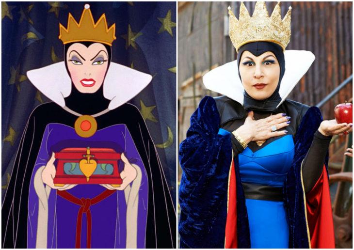 Kathy Najimy como La Reina Malvada de Descendientes