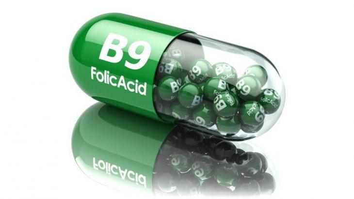 cápsula de ácido fólico