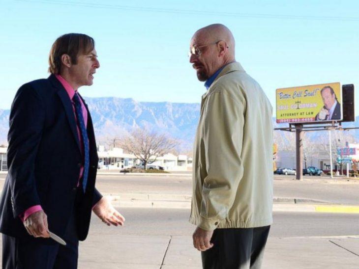 Una escena de Breaking Bad en donde actúa Bob Odenkirk en su papel de Saul Goodman