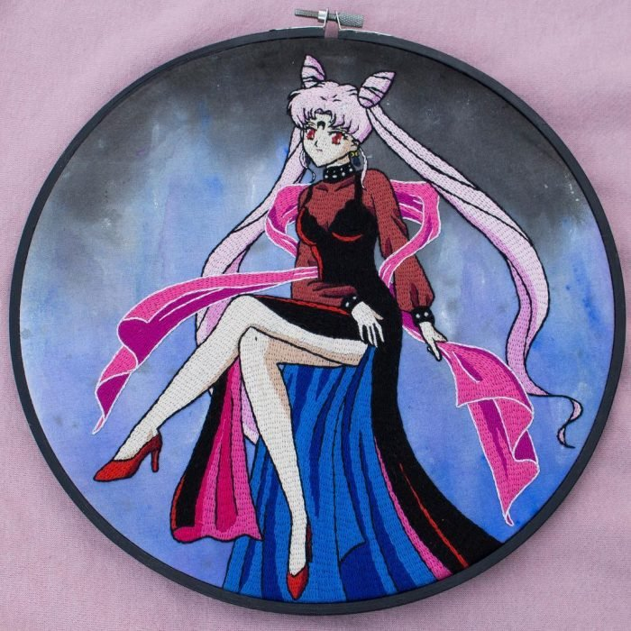 Bordado de Sailor Moon; Black Lady