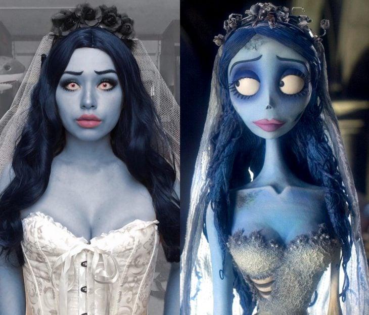 Mira Park hace divertidos cosplays; disfraz de Emily de El cadáver de la novia