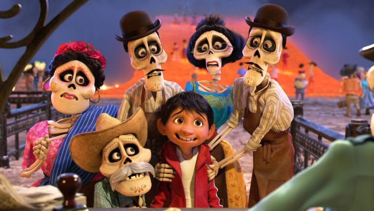 Escena de Coco película animada de Disney Pixar