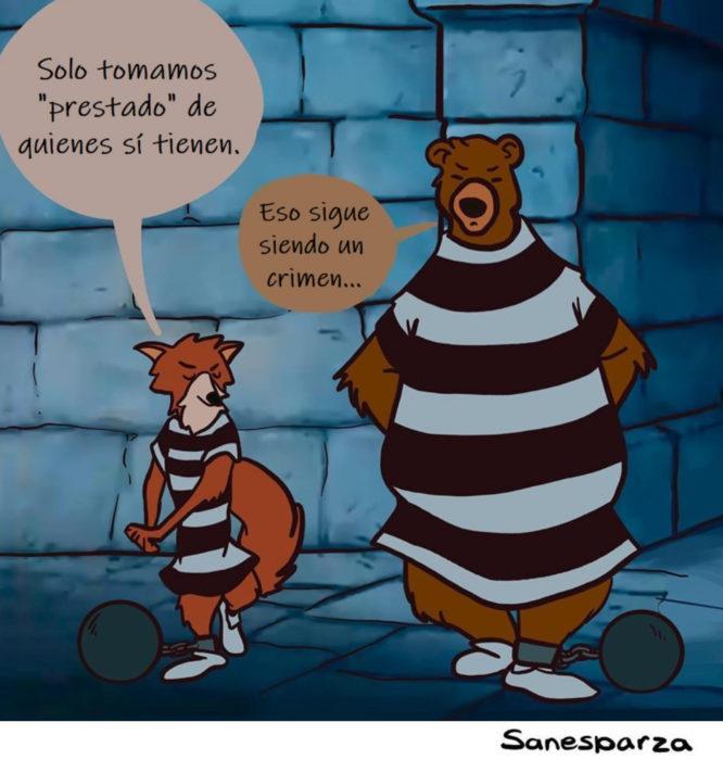Santiago Esparza ilustra escenas de Disney realistas; Robin Hood