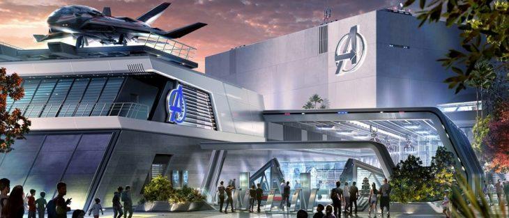 edificio sede del Avengers Campus