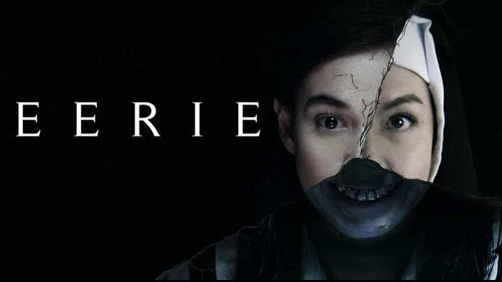 Portada de la película de netflix Eerie