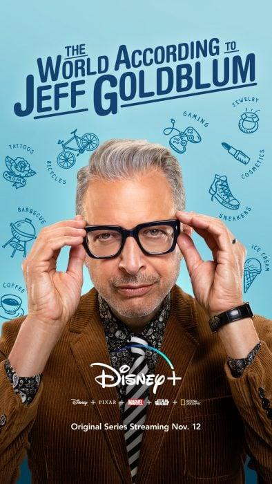 Estrenos de Disney+; El mundo según Jeff Goldblum