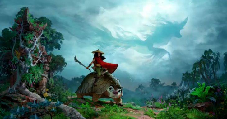Estrenos de Disney+; Raya y el último dragón