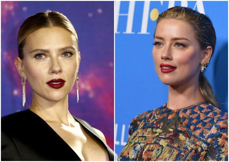 Scarlett Johansson y Amber Heard