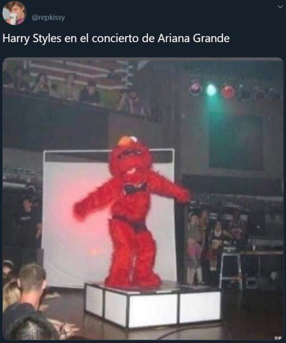 Memes de Harry Styles bailando en el concierto de Ariana Grande