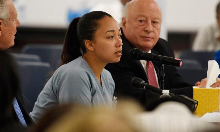 Cyntoia Brow en juicio