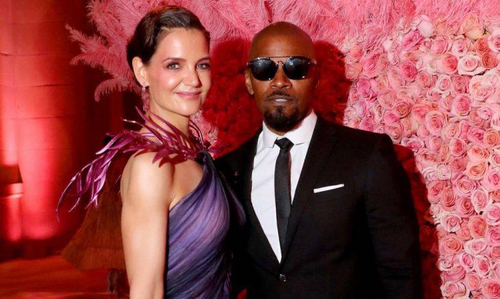 Katie Holmes y Jamie Foxx en la Met Gala 2019