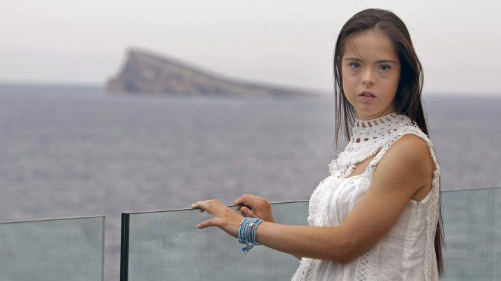 Marián Ávila, modelo con Síndrome de Down