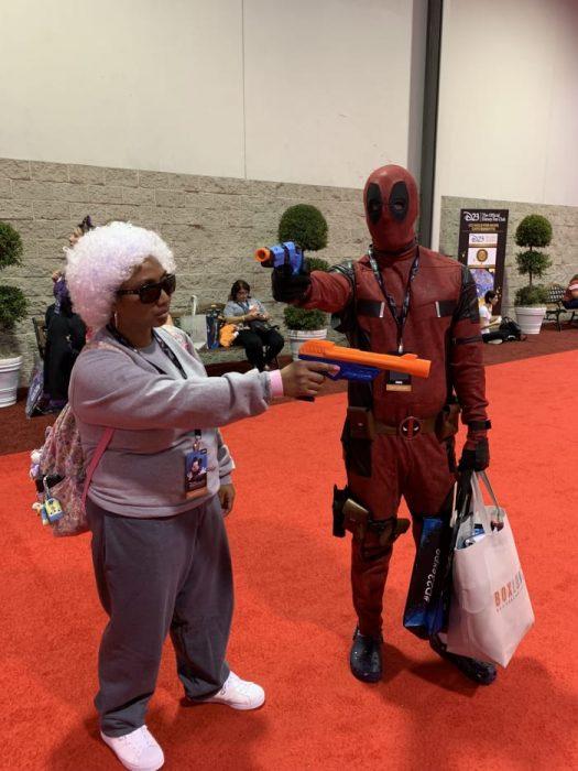 Cosplay de Deadpool, Expo D23, Disney